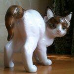Испуганный котенок Rosenthal