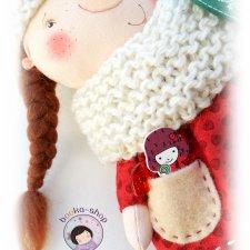 Что хранится в карманце гнома? Текстильная кукла