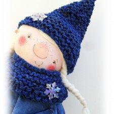 Смилла. Гном. Авторская текстильная куколка Катерины Скачковой