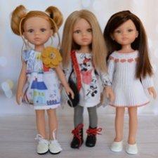 Испанские куклы (моя небольшая коллекция Paola Reina) часть 6 новенькие