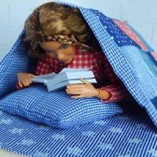 """""""С полки бабушка достала непростое одеяло..."""""""