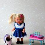 Платья для куклы Маши, Еви, Шу-шу