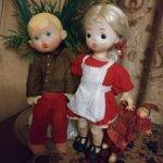 Куклы СССР лотом