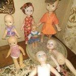 Паричковые куколки лотом