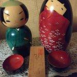 Японские матрешки Кокеши