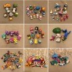 Лоты мелких игрушек (хэтчималс, киндер, лалалупси и др.)