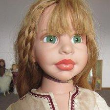 Опять мы куклу наряжали. Амани от Марты Пинейро