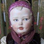 ! Полцены от автора -  7000руб! Авторская  кукла по мотивам антикварных кукол Heubach