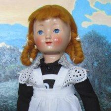 Милейшая опилочная куколка из Советского прошлого