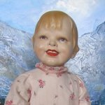 Портретная винтажная кукла Gladdie от Helen W. Jensen