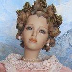 Оригинал! Красивейщая фарфоровая кукла от UTA BRAUSER