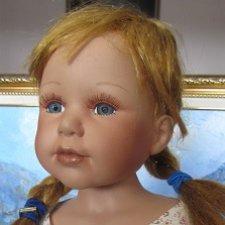 !Снизила цену - 3500 руб! Фарфоровая куколка, возможно на переделку или доработку