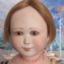 Яни потрясающая кукла от английских художников  Линн и Майкла  Roche