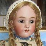 !Последняя цена! 49500 руб! Антикварная кукла Heinrich Handwerck