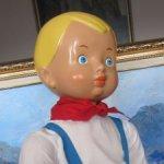 Витя -  прессопилочная кукла из молда фабрики 8 Марта