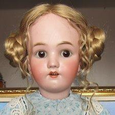 Антикварная кукла Heinrich Handwerck