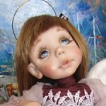 ! До 15,06 - 19000 руб! Милый ангелочек от Ольги Тимофеевой.
