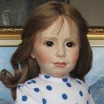 Редчайшая фарфоровая кукла Jennifer, оригинал Philip Heath, Англия-Бельгия, 1988 г!