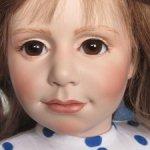 Редчайшая фарфоровая кукла, оригинал Philip Heath, Англия-Бельгия, 1988 г!
