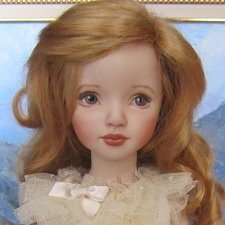 Кукла из молда Dianna Effner. Роспись -April Norton.