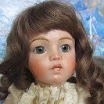 Авторская кукла по мотивам французской антикварной Bru