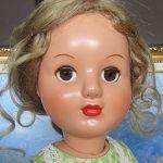 Новенькая полностью прессопилочная куколка из молда Киевской фабрики Победа