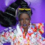 Пышка#11 афроамериканка Barbie BMR1959