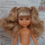 """Ева#44 блондинка с хвостиками Berjuan. """"Загорелый"""" винил"""