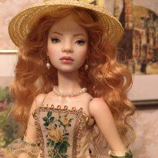 Диана, авторская кукла Маргариты Цветковой