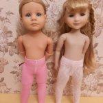 Колготки для кукол Готц, 36 см и Руби Ред, 37 см