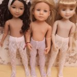 Трусики и колготки для кукол Готц 36 см и Руби Ред