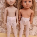 Колготки для кукол Готц Little Kidz и Руби Ред