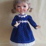 Теплые платья для кукол Миадовдолс, 28 см
