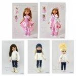 PDF-описания по вязанию для кукол типа Paola Reina, Gotz, Disney Animators