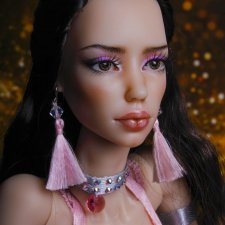 Линда, розовая карамель