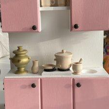 Кухонный гарнитур для кукол Барби и других 26-30 см
