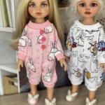 Пижамки  и валенные тапочки для Паолок