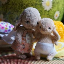 Вхождение маленькой Ляли в новую семью / Авторская игрушка