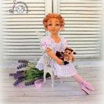 Валяная кукла Фея кукол