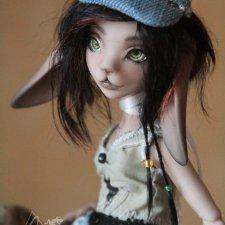 Шарнирные куклы Зайки в полиуретане. Первые образы и суровый эксперимент