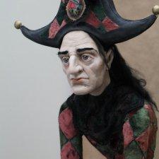 Кукла ручной работы Арлекин