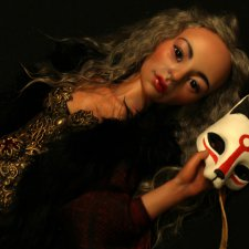 Кицунэ. Авторская кукла