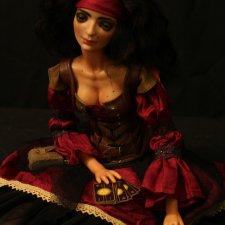 Авторская кукла Роза