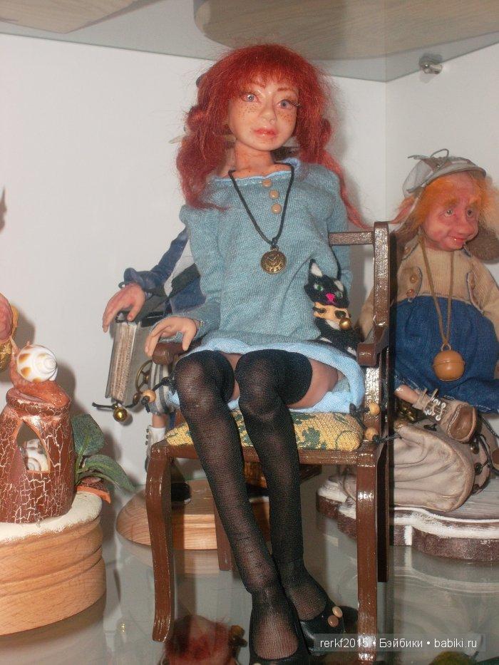 Шарнирная кукла Лизонька,рост 38см,принимает множество поз ,свойственных человеку.