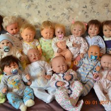 Моя коллекция анатомически корректных малышей