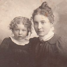 Семейные фотографии из прошлого