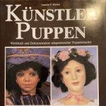 Книга о куклах Kunstler Puppen, Joachim F. Richter, 3 тома