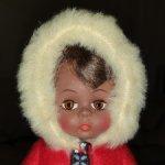 Винтажная кукла Madame Alexander Eskimo doll, USA
