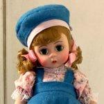 Винтажная кукла Madame Alexander Wendy learns her ABCs dolls in original box
