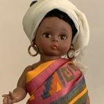 Винтажная кукла Madame Alexander African doll in original box